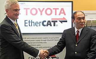 Ethercat, Ethercat P, Toyota