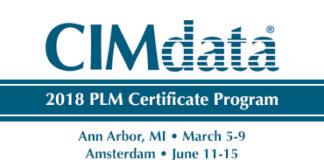 CIMData, PLM Certificate Program, Schedule