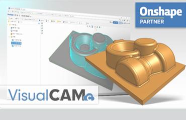 MecSoft, Onshape, VisualCAMc