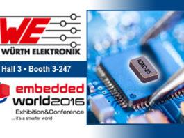 Würth Elektronik eiSos, embedded world, Würth Elektronik